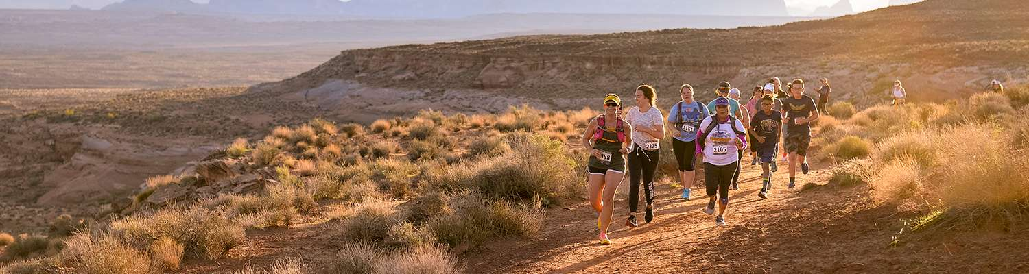 Lone Mountain Trail Run Banner Image