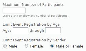 Registration Restrictions