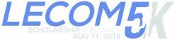 LECOM 5K Scholarship Run/Walk and One Mile Wellness Walk