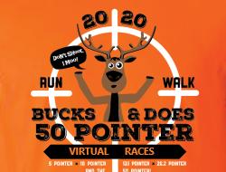 The Bucks & Does Fifty Pointer Virtual Run
