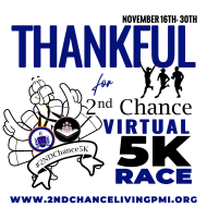 Thankful for 2nd Chance Virtual 5k