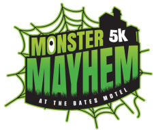 Monster Mayhem 5K and Monster Mile at The Bates Motel
