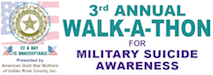American Gold Star Mothers of IRC, Inc. 3rd Annual Walk-A-Thon for Military Suicide Awareness