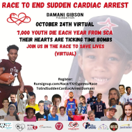 Race To End Sudden Cardiac Arrest- Damani