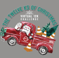 The 12 Ks Of Christmas Virtual 12K & Challenge