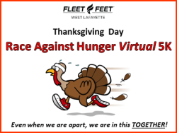 Race Against Hunger Virtual 5K