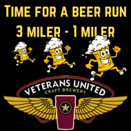 Veterans United Craft Brewery - Time for a Beer Run -   3 mile and 1 miler