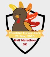 Thankful Turkey Half Marathon & 5K