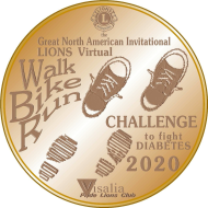 Lions Run/Walk/Cycle/Roll Distance Challenge to Fight Diabetes