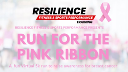 Resilience Training Run For The Pink Ribbon Virtual 5K Run