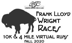 Frank Lloyd Wright Races - 10k and 4 mile Virtual Runs