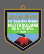 Hilo to Volcano Virtual 50K/50Mile Run