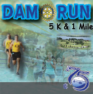 Dam Run 5K / 1Mile ( by the Rotary Club of Ogallala)