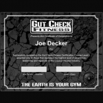 Gut Check Fitness Certification