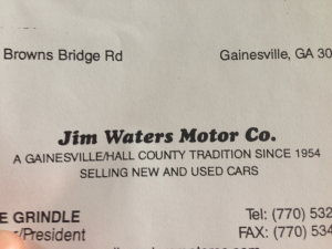 Jim Waters Motor Co