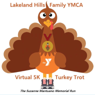 Lakeland Hills Family YMCA Virtual 5K Turkey Trot