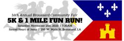 Broussard Community Fair 5K/1 Mile Run