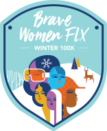 Brave Women FLX Winter 100K Virtual Challenge