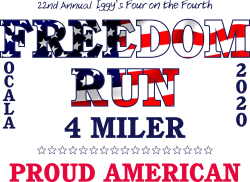 "Iggy's Virtual ""Four on the Fourth"" Freedom Run"""