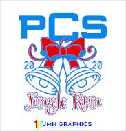 PCS Jingle Run 5K, 1 Mile Fun Run/Color Run and Virtual Run
