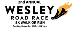 2nd Annual Wesley Road Race 5K