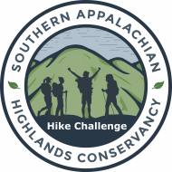 Southern Appalachian Highlands Conservancy Virtual Hiking Challenge