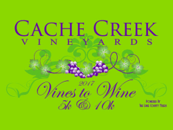 Vine to Wine run - Cache Creek Winery