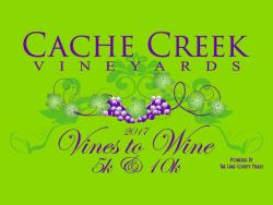 Vine to Wine run - Cache Creek Winery