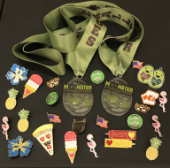 The Holidays Edition Monster 100/Little Monster 50 Mile Challenge