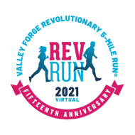 15th Valley Forge Revolutionary 5 Mile Run VIRTUAL EDITION