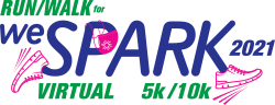 Run/Walk for WeSPARK! Jan 16, 2021 - Jan 24, 2021