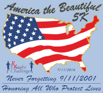 America the Beautiful 5k (Never Forgetting 9/11 Run/Walk)