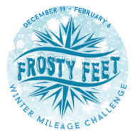 Frosty Feet Winter Mileage Challenge