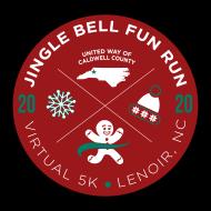 United Way of Caldwell County Jingle Bell Fun Run - VIRTUAL 5K