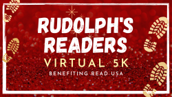 Rudolph's Readers Virtual 5K benefitting READ USA