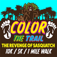 Color The Trail The Revenge Of Sasquatch