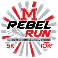 Rebel Run 10K, 5K & 1Mile Run/Walk 2018