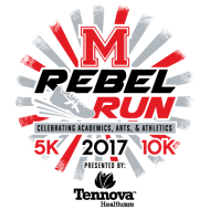 Rebel Run 10K, 5K & 1Mile Run/Walk 2017