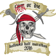 Hallowed Half Marathon and Frightening 5k