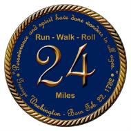 24-Mile George Washington Birthday Virtual Run, Walk, n' Roll Challenge - Alexandria American Legion Post 24