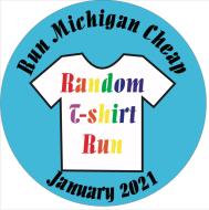January Random T-Shirt Run - Run Michigan Cheap