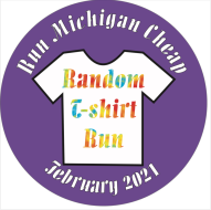 February Random T-Shirt Run - Run Michigan Cheap