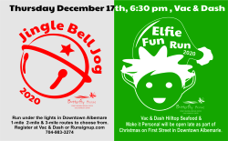 Jingle Bell Jog for the Butterfly House