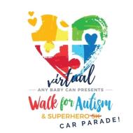 Any Baby Can of San Antonio Virtual Walk & Superhero Car Parade
