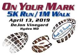On Your Mark 5K