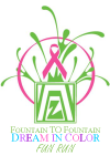 Zonta Fountain to Fountain Dream in Color Fun Run