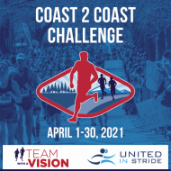 Team With A Vision & United In Stride Coast 2 Coast Challenge