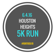 Houston Heights  5K Run