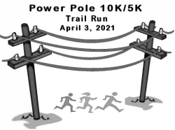 Power Pole 10K/5K Trail Run (Live or Virtual)