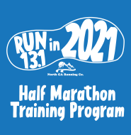 Run 13.1 in 2021 Half Marathon Training Program